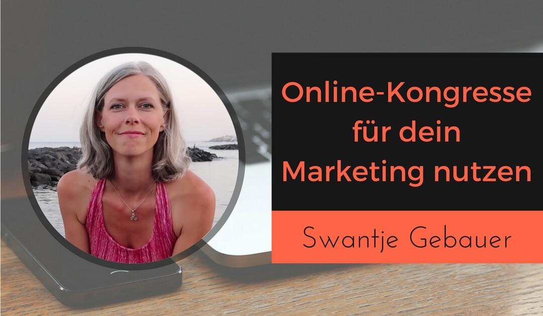 Online-Kongress mit Swantje Gebauer