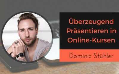 Wie du überzeugend präsentierst in Videokursen und Lernen durch Erfahrung mit Presentation Punk Dominic Stühler