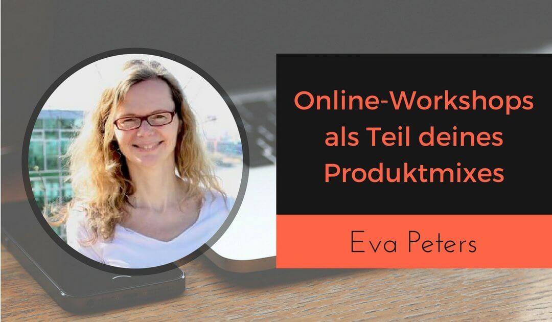 Online-Workshops digitale Produkte Eva Peters Onlinekursekompass