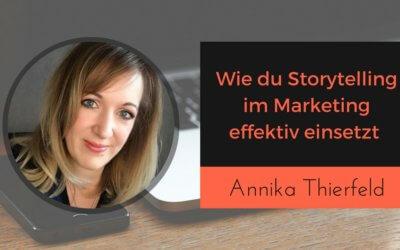 Storytelling für dein Online Kurs Marketing nutzen