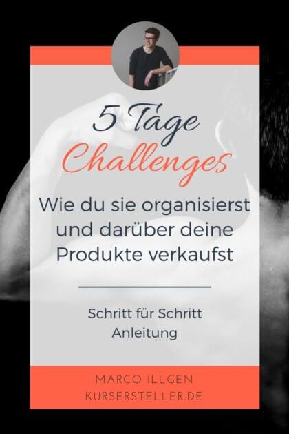 5 Tage Challenges Schritt für Schritt Anleitung