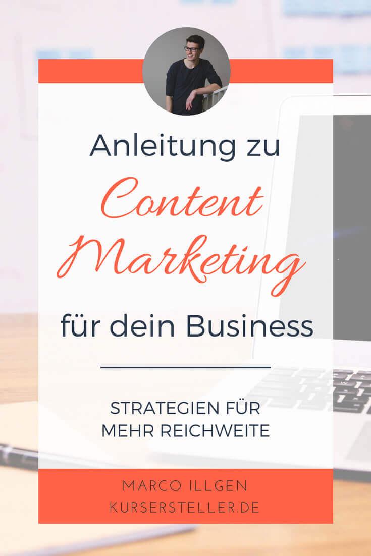 Content Marketing Strategien für deinen Blog - mehr Reichweite und Leser für deine Blog Beiträge und Artikel gewinnen-2