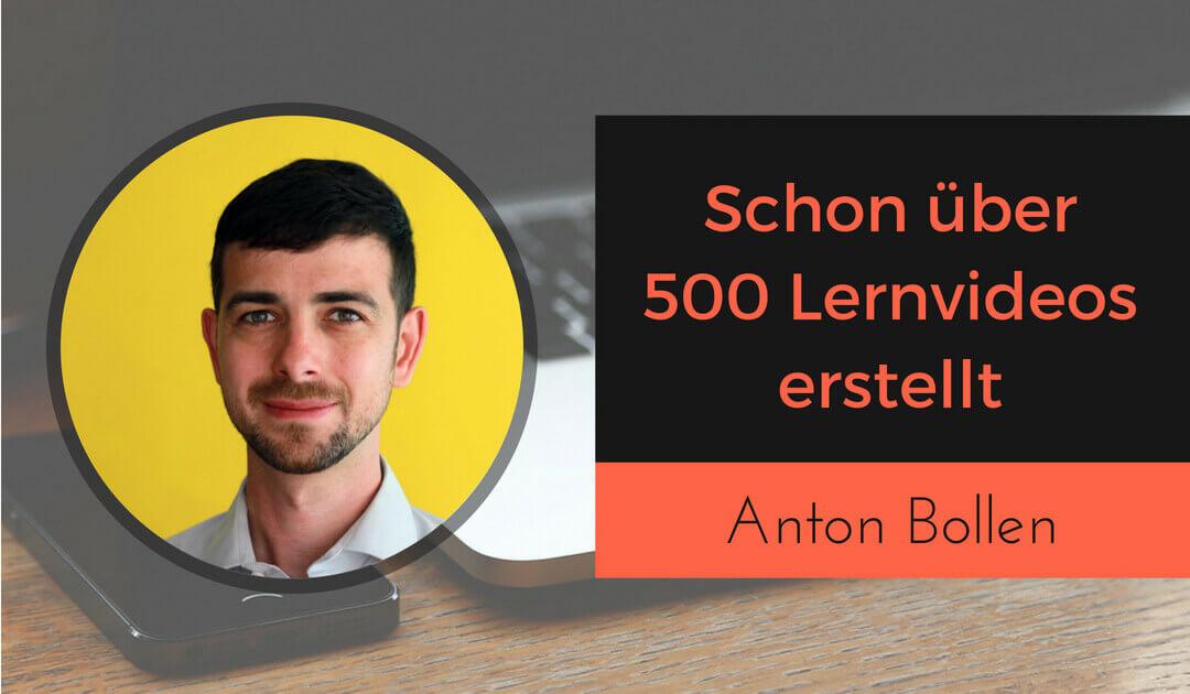 Richtig gute Lernvideos und Trainingsvideos erstellen mit Anton Bollen von Camtasia (1)
