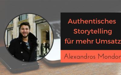 Authentisches Storytelling für mehr Umsatz im Unternehmen
