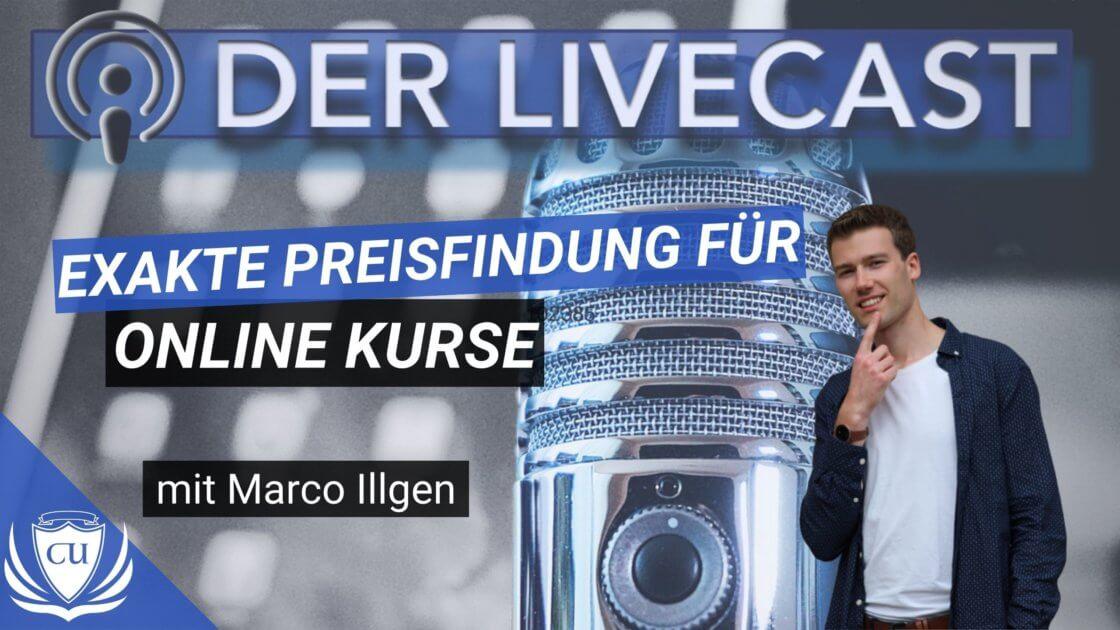 Preisfindung Wie du den exakten Preis für deinen Online-Produkt entwickelst - Kursersteller Podcast mit Marco Illgen