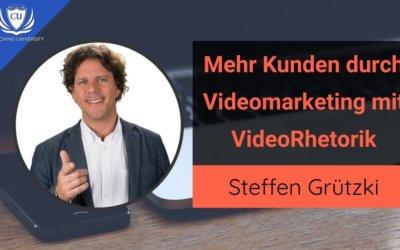 Effektives Videomarketing mit Rhetorik-Europameister Steffen Grützki