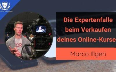 Die Expertenfalle beim Verkauf deines Onlinekurses