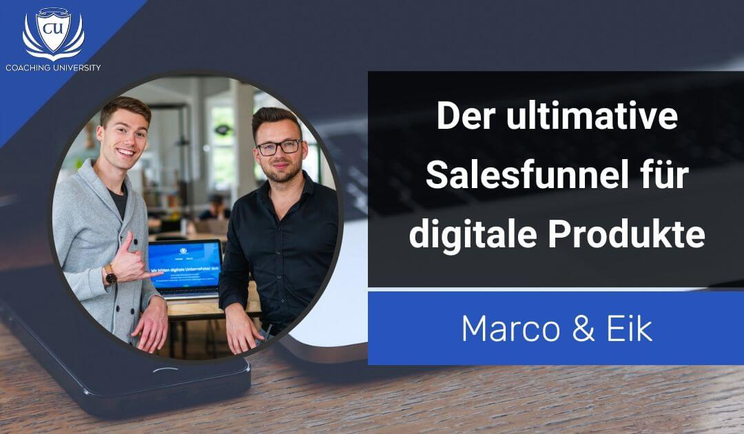 Der ultimative Salesfunnel für digitale Produkte und Online-Kurse