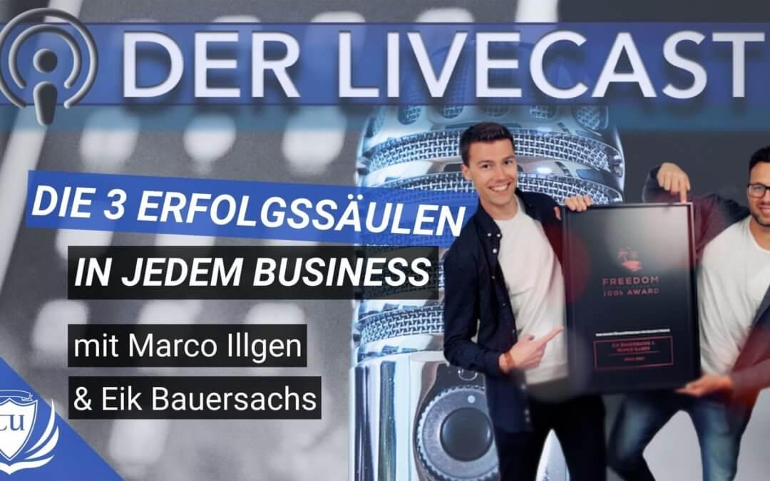 100k Award – Die 3 Erfolgssäulen zur Online-Business Skalierung