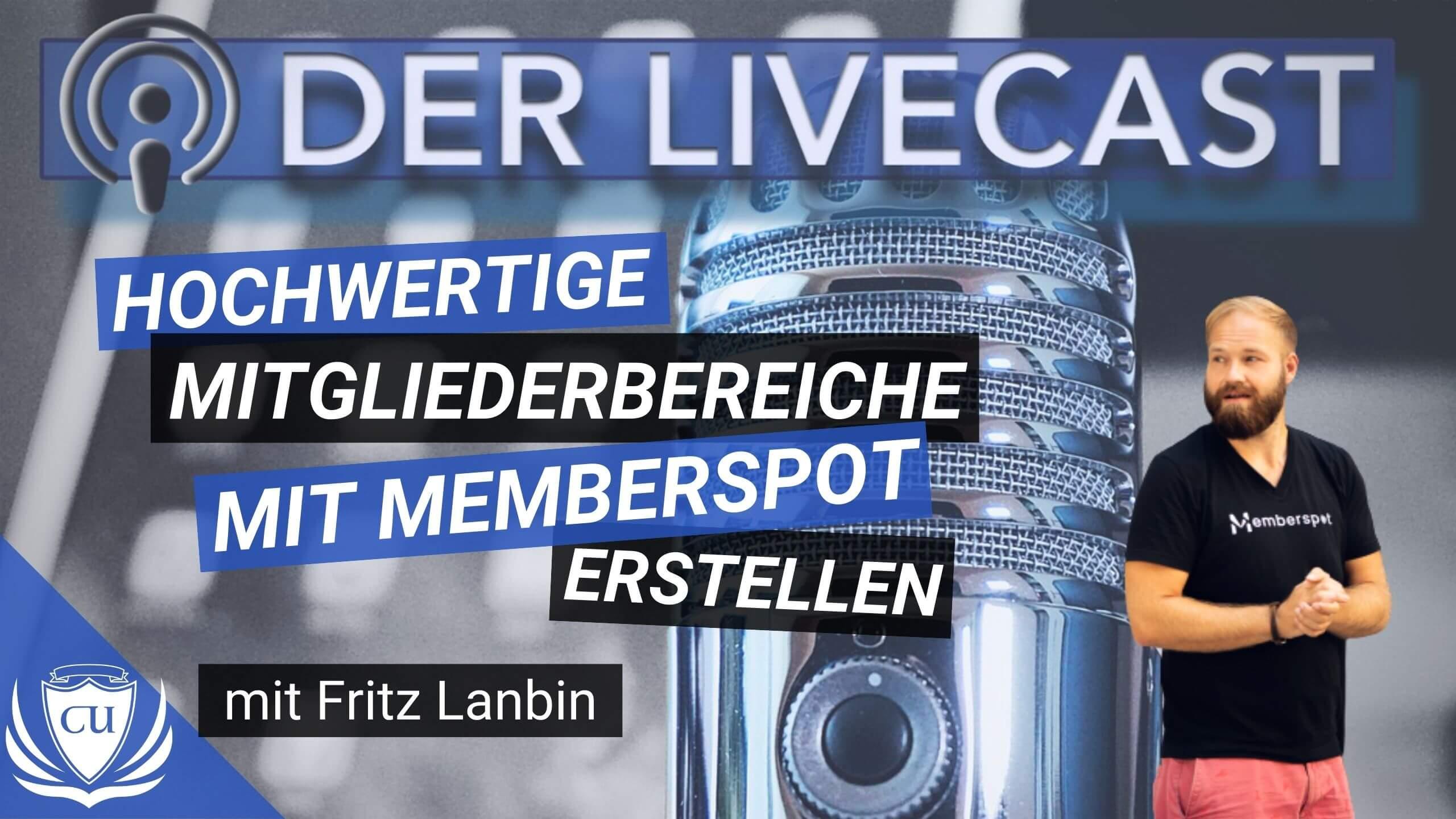 Eigene App für deinen Online-Kurs mit der Memberspot Kursplattform Fritz Lanbin