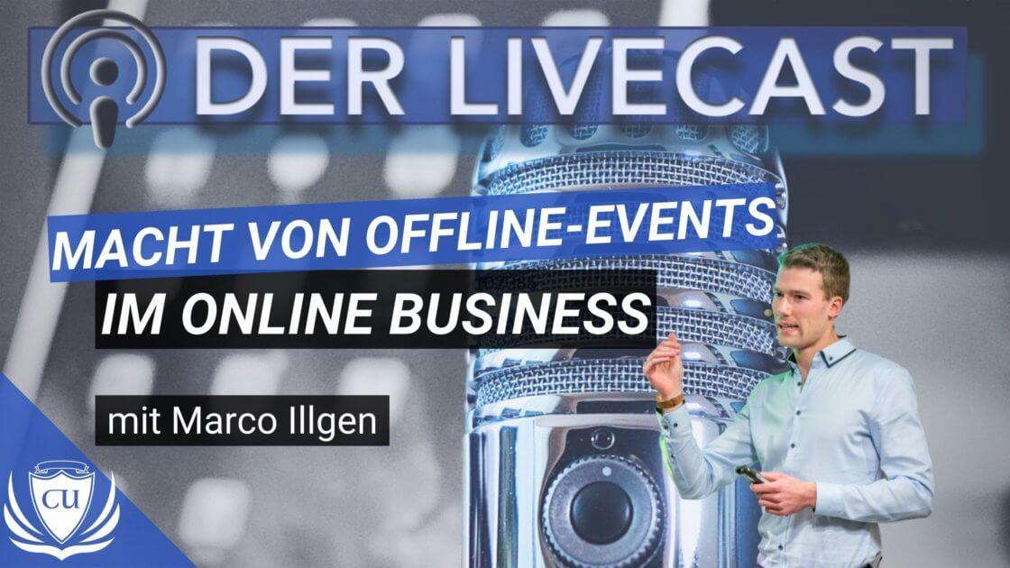 Online findet, offline verbindet - Die Macht von Offline-Events für dein Online-Business