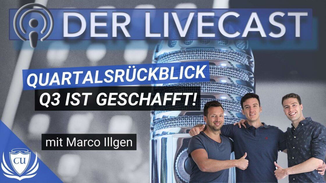 Quartalsrückblick Q3 2020 - Coaching Universe Marco Illgen Digitalunternehmer & Kursersteller (1)