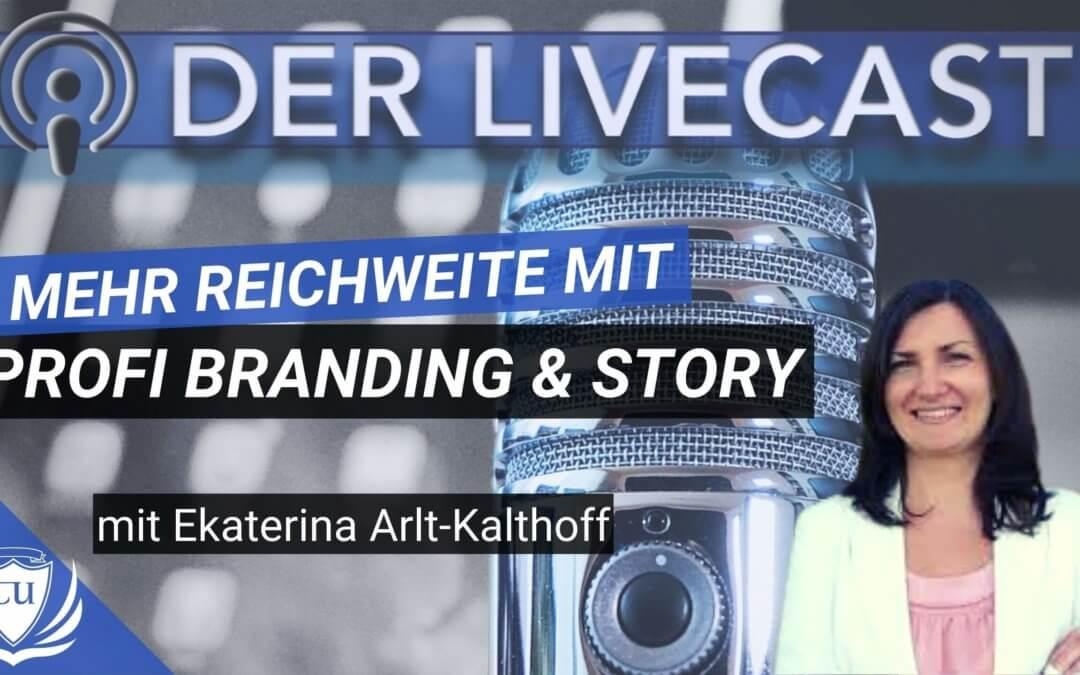 Wie du mit Profi-Branding und genialer Marketing Story in die Presse kommst mit Ekaterina Arlt-Kalthoff