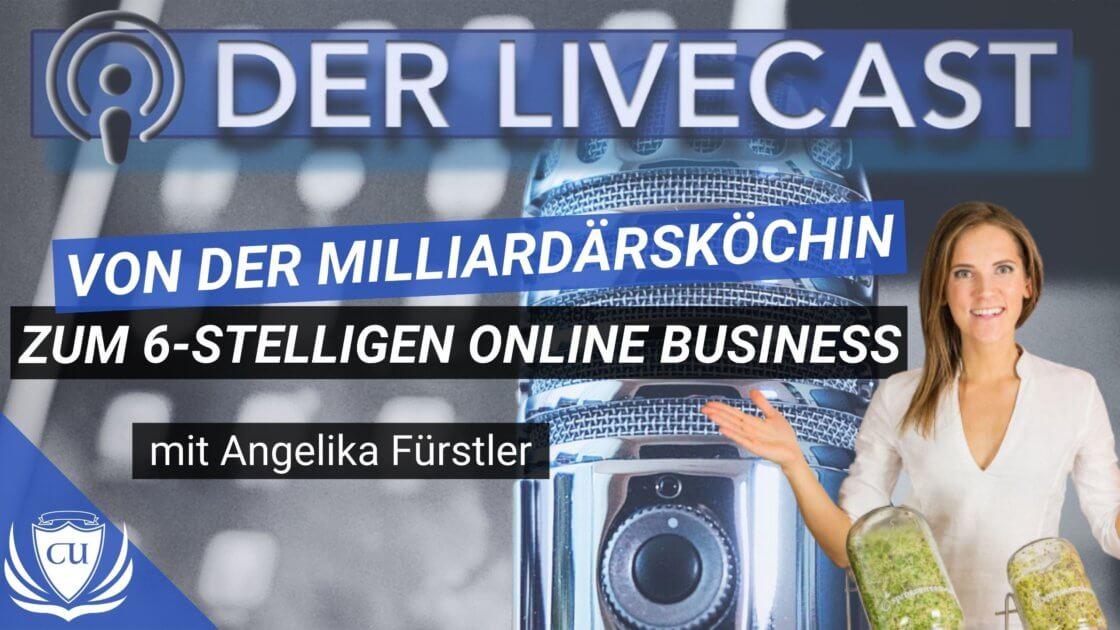 Angelika Fürstler - Von der Privatköchin für Milliardäre zum eigenen 100.000€ Online-Business über Sprossit Neujahr Sprossen Kickstart Challenge