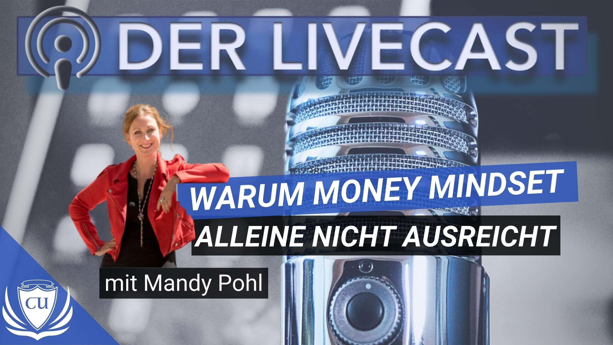 Geldprobleme spirituell lösen - Warum Money Mindset allein nicht ausreicht & wie du spirituell zum Millionär wirst mit Mandy Pohl von Magic Money Mind