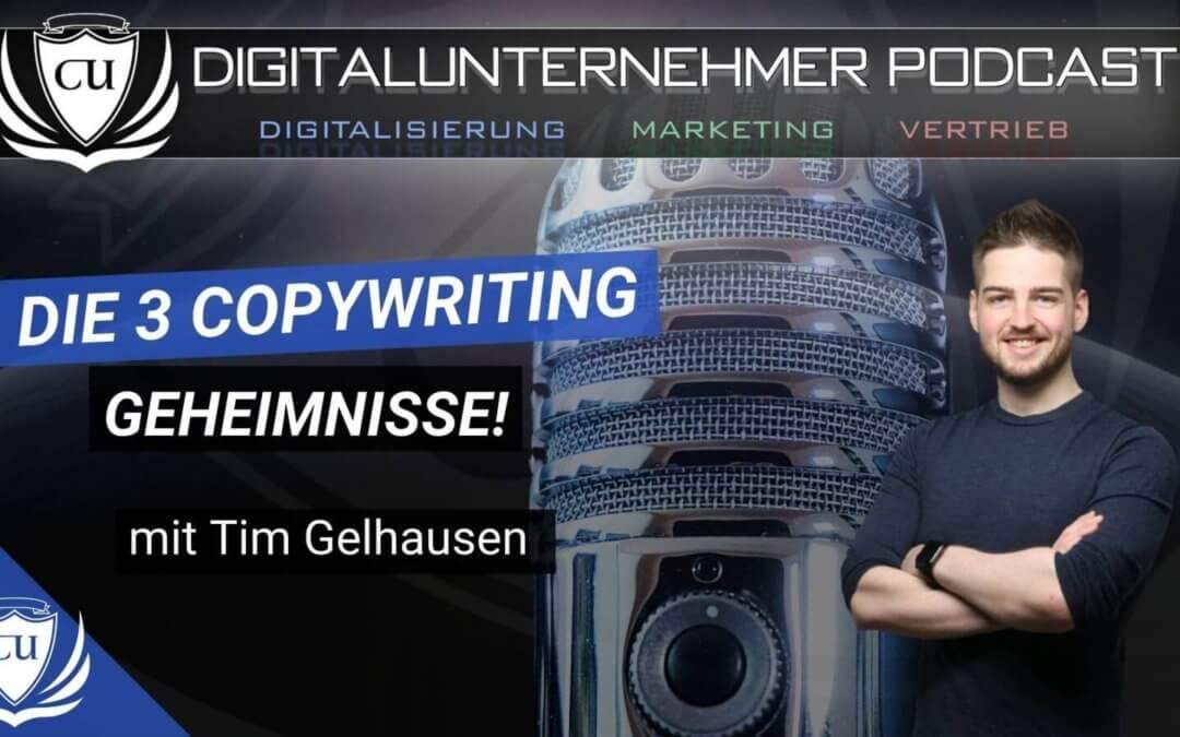 Die 3 Copywriting Geheimnisse für Landingpages, E-Mails & Ads – Mit Tim Gelhausen