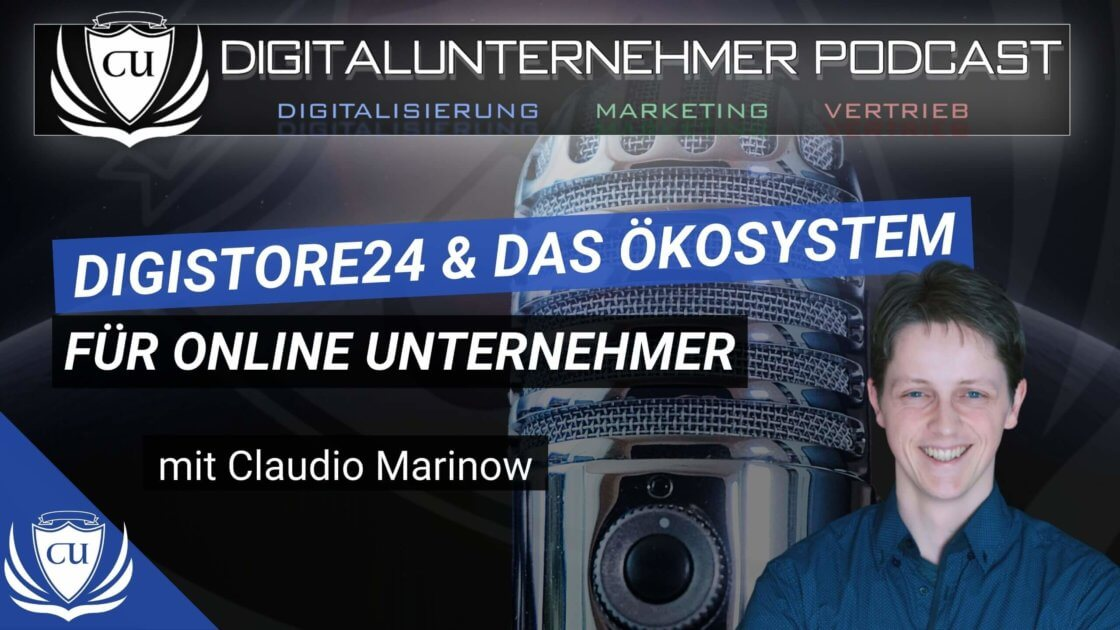 Thumbnail Coachannel &Digistore24 mit Claudio Marinow (1)