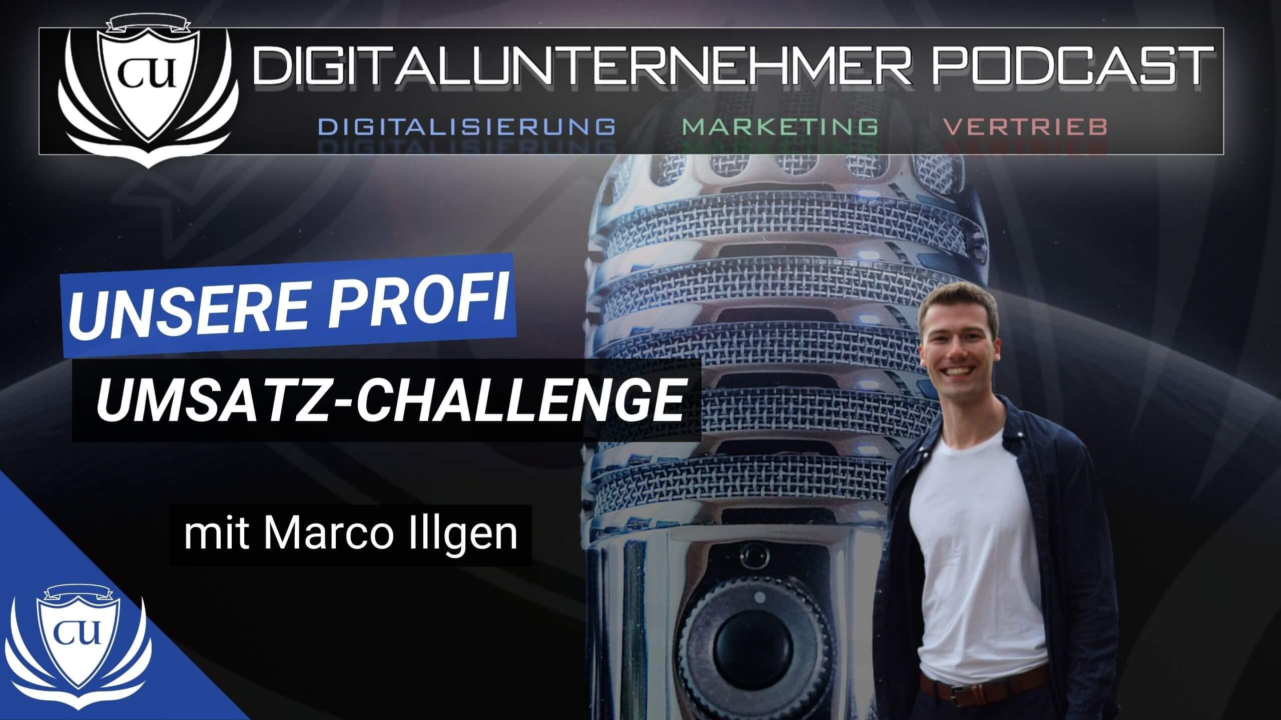 Thumbnail Podcast Umsatz Challenge